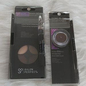 Salon Perfect Ready Set Go Brow Kit & Brow Pomade